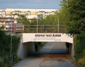 <p>Rosengård honours its most famous inhabitant with a via- duct quoting Ibrahimović ('You can take a kid out of Rosengård, but you can never take Rosengård out of that kid')...</p>